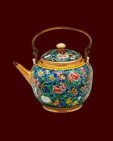 Free Thai Vase 04 Royalty Free Stock Image - 16369736