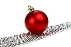 Free Decorations For New Year And Christmas Royalty Free Stock Image - 16369826