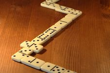 Free Dominoes Game Royalty Free Stock Photo - 16369905