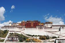 Free Potala Palace In Lhasa Tibet Stock Photo - 16369980