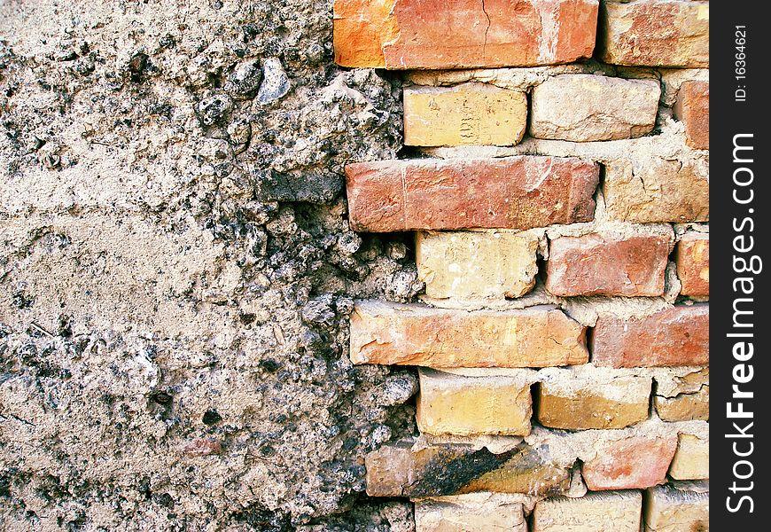 Grunge Brick Wall (brickwork)