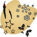 Free Hand-drawn Christmas Icons Stock Photography - 16370582