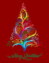Free Illustration Of Colorful Christmas Tree Stock Photography - 16370932