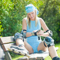 Free Inline Skater Royalty Free Stock Photo - 16372005