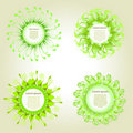 Free Vector Green Circles Of Grass Stock Image - 16372181
