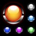 Free Set Of Vector Web Buttons Stock Photos - 16372343