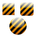 Free Set Of Striped Buttons Stock Photo - 16372350