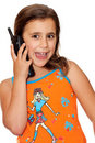 Free Beautiful Girl Talking On The Phone Royalty Free Stock Images - 16377829