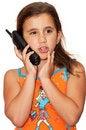 Free Beautiful Girl Talking On The Phone Stock Photos - 16378243