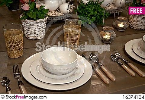 Free Seasonal Table Stock Images - 16374104
