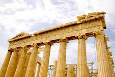 Free The Parthenon, In Athens Akropolis, Greece Royalty Free Stock Photos - 16370008