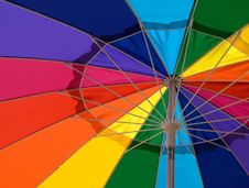 Free Closeup Of Colorful Umbrella Royalty Free Stock Image - 16370146