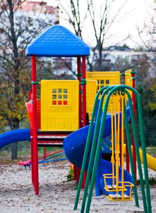 Free Children S Playground Stock Photo - 16370300