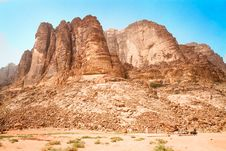 Free Lawrence Spring, Wadi Rum,  Jordan. Stock Photography - 16371012