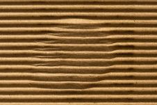 Free Brown Corrugated Cardboard Texture Royalty Free Stock Photography - 16371327