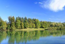 Free Lake In Autumn Stock Photos - 16371823