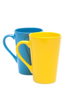 Free Yellow And Blue Mug Royalty Free Stock Images - 16372269