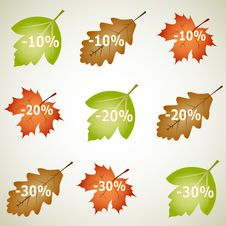 Free Autumnal Discount Stock Image - 16372321