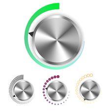 Free Vector Metallic Radial Regulator Stock Photography - 16372372
