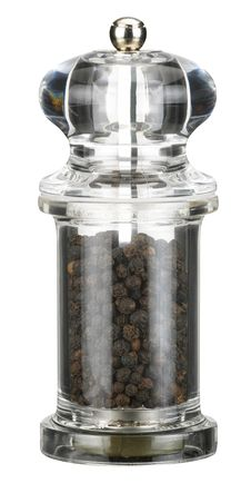 Free Transparent Clear Plastic Pepper Mill Grinder Royalty Free Stock Photo - 16372385