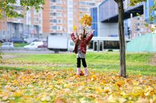 Free Adorable Small Girl With Long Dark Hair Stock Photo - 16372720