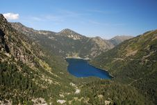 Free Oredon Lake Seen From The Dam Of Cap Long Royalty Free Stock Photos - 16373118