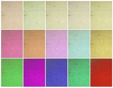 Collection: Crosshatch Painted Wall Royalty Free Stock Photos