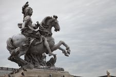 Free Statue Of Louis XXIV Stock Photography - 16373522