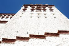 Potala Palace In Lhasa,Tibet Royalty Free Stock Photography