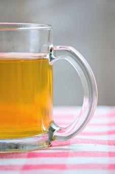 Free Green Tea Hot Drink And Lemon Royalty Free Stock Photo - 16373835