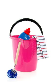 Free Cleaning Equipment Royalty Free Stock Photography - 16373837