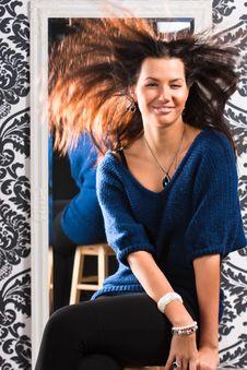 Free Flying Hair Stock Image - 16373911