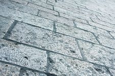 Absract Stone Road Royalty Free Stock Photo