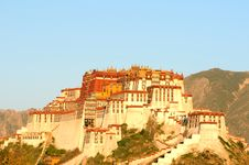 Free Potala Palace In Lhasa,Tibet Stock Image - 16374851