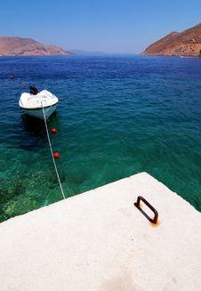 Free Boat In Bay Of Symi Island Stock Photos - 16375373