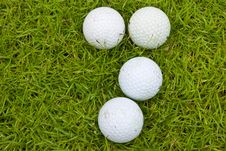 Free Golf On Green Field Stock Photography - 16377072