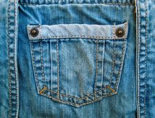 Free Fragment Of Jeans Royalty Free Stock Photo - 16377135