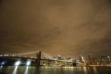 Free Brooklyn Bridge Both Sides Stock Photo - 16378110
