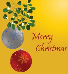 Free Christmas Ball Royalty Free Stock Photo - 16378345