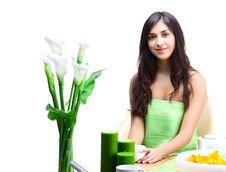 Free Beautiful Woman  In Cafe Stock Photo - 16378520