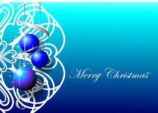 Free Blue Christmas Background Royalty Free Stock Photos - 16378638