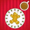 Free An Unfortunate Gingerbread Man Stock Photo - 16383460