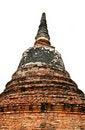 Free Stupa At Ayudhya Thailand Stock Photos - 16383743