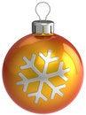 Free New Year Decoration. Christmas Ball (Hi-Res) Stock Image - 16389671