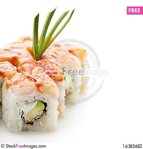Free Japanese Cuisine - Sushi Stock Photography - 16385682