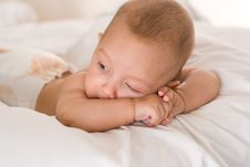 Free Portrait Of A Beautiful Newborn Royalty Free Stock Photo - 16382675