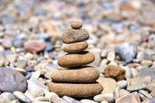 Free Pyramid From The Stones Stock Photos - 16383273