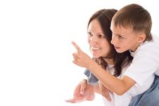 Free Happy Mother With Her Child Together Royalty Free Stock Photography - 16383297