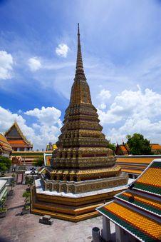Free Wat Pho Temple, Thailand Stock Photo - 16383340