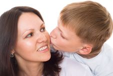 Free Happy Mother With Her Child Stock Photo - 16383450